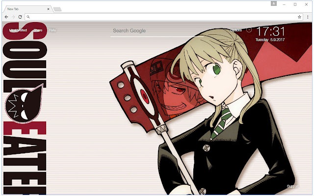 Soul eater wallpaper hd new tab themes chrome web store voltagebd Images