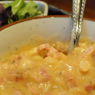 Ham and Navy Bean Soup Recipe