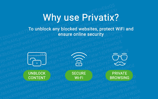 Privatix - Free VPN and Unlimited Proxy