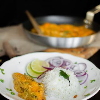 Salmon in Yogurt Gravy (Doi Maach)