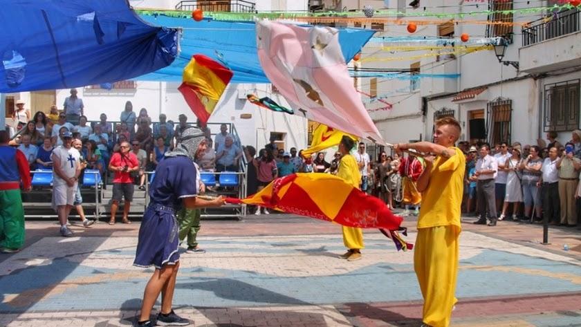 Celebración de los Moros y Cristianos en Sierro (Foto: Noelia Castillo).