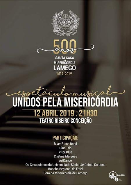 Talento musical sobe ao palco no 500º aniversário da Misericórdia de Lamego
