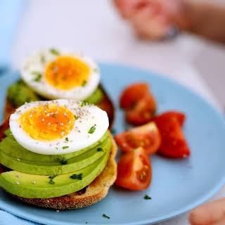 Avocado + Eggs + English Muffins.
