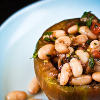 Tomatoes Stuffed with White Beans