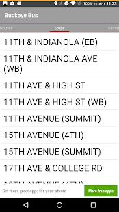 Buckeye Bus Tracker - náhled