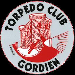 Logo du Torpedo Club Gordien club de passionnés de voitures anciennes en Vaucluse à Gordes dans le luberon au pied du Ventoux