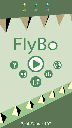 FlyBo - 3D飛行ボールゲーム