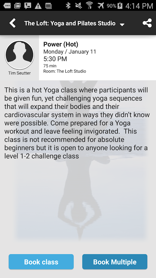 The Loft Yoga & PilatesStudio- screenshot