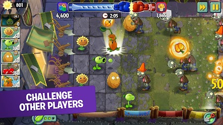 Plants vs. Zombies 2 Free APK screenshot thumbnail 3