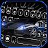 Luxury Black Car Keyboard Theme