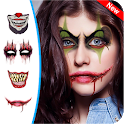 Halloween Makeup - Scary Mask - Ghost Photo Editor icon