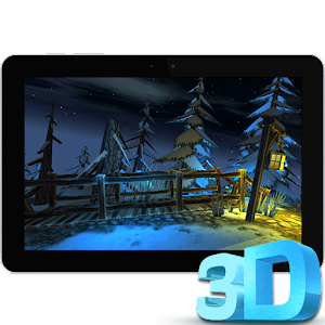 3D Winter Forest Live WP