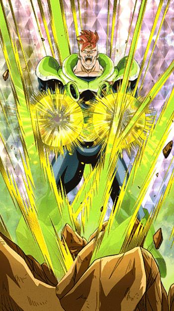 大地からの閃光・人造人間16号