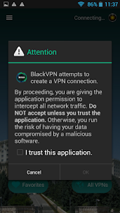Black VPN- screenshot thumbnail