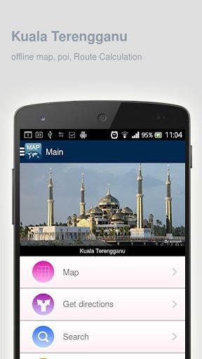 Kuala Terengganu Map offline