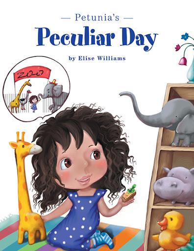 Petunia's Peculiar Day  cover
