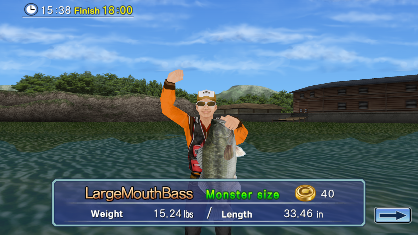 Bass fishing 3d free android apps on google play for Fishing game android