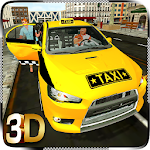 City TAXI Driver: Crazy Car Rush Driving Simulator Icon