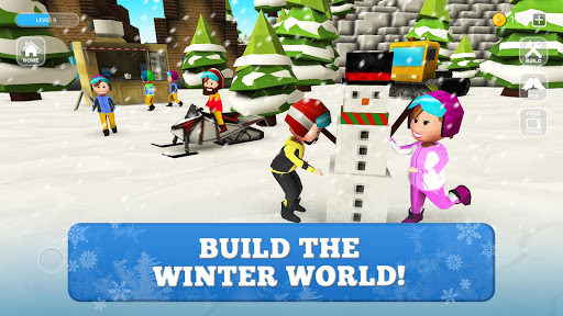 Snowboard Craft: Freeski, Sled Simulator Games 3D 1.7-minApi23 screenshots 1