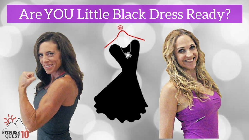 Little Black Dress Landing Page