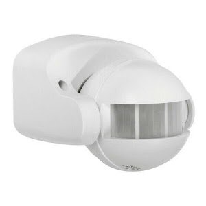 Senzor de prezenta pentru perete, unghi 180 de grade