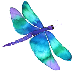 This image has an empty alt attribute; its file name is dragon-fly-blue.png