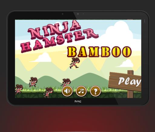 Ninja Hamster Bamboo