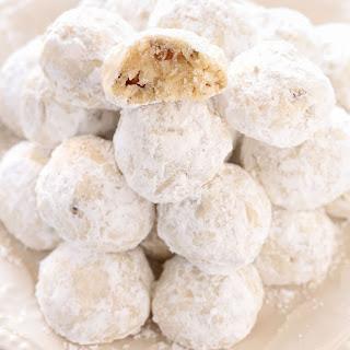 Snowball Cookies.