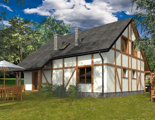 projekt Zosia 2 Drewniany Termo