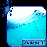Wave Splash Animated Keyboard Icon