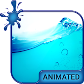 Wave Splash Animated Keyboard