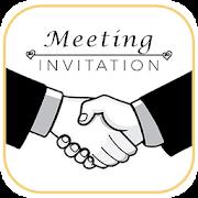 Meeting Invitation card Maker