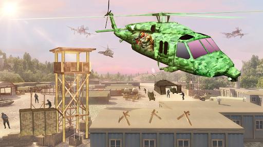 Télécharger Hélicoptère Tournage Gunship Guerre  APK MOD (Astuce) screenshots 6