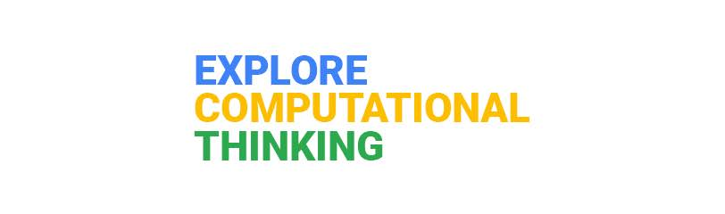 Logo di Explore Computational Thinking