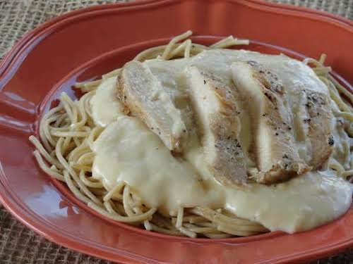 "Homemade Inexpensive Alfredo Sauce ""This alfredo sauce has great taste, minus the..."
