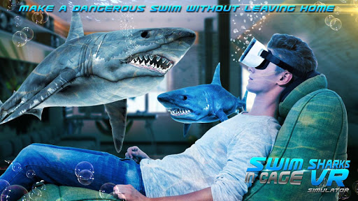 Swim Sharks In Cage VR Simulator 2.1 screenshots 3