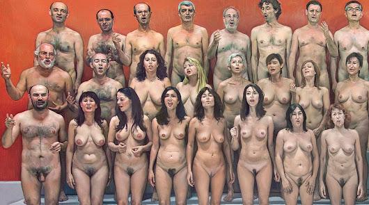 La coral de hombres y mujeres desnudos que pintó Ibáñez, portada de un libro