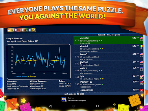 WordHero : best word finding puzzle game 13.5.0 screenshots 11