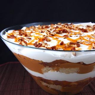 Gluten Free Caramel Apple Trifle.