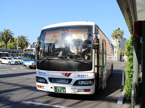 西鉄高速バス「フェニックス号」 9907 宮崎駅にて その2