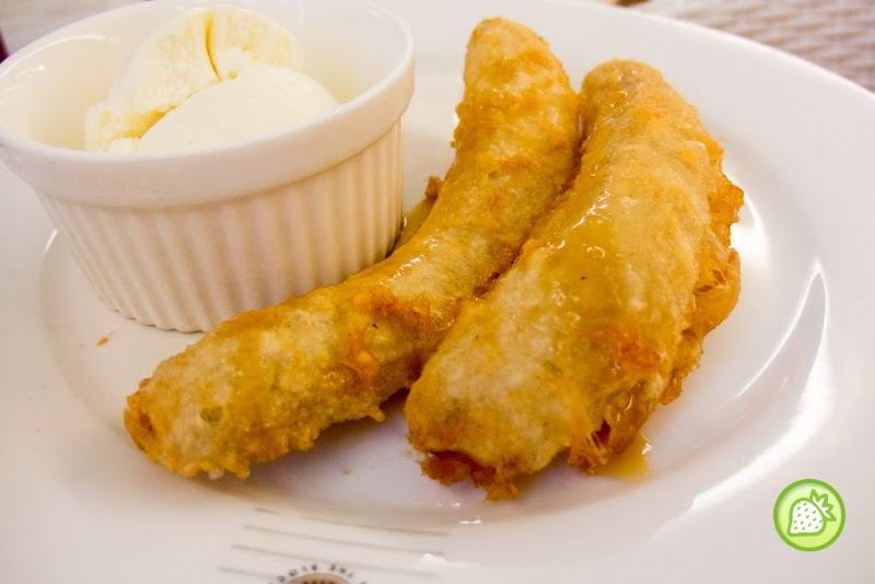 Signature Fried Banana Fritters With Ice Cream Tappers