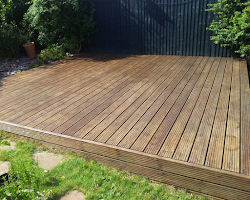 composite decking service in devon