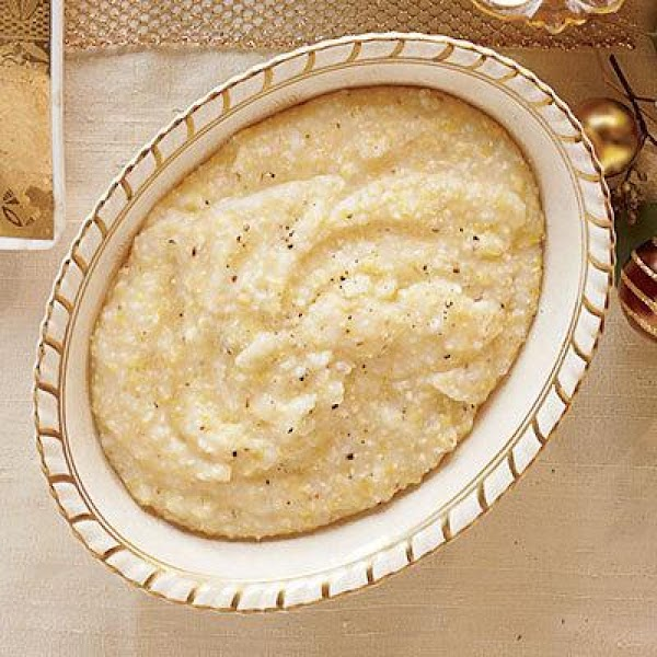 Creamy Parmesan Grits Recipe
