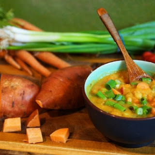 Split Pea Soup and How to Eat Healthy on a Budget with Eco-Vegan Gal