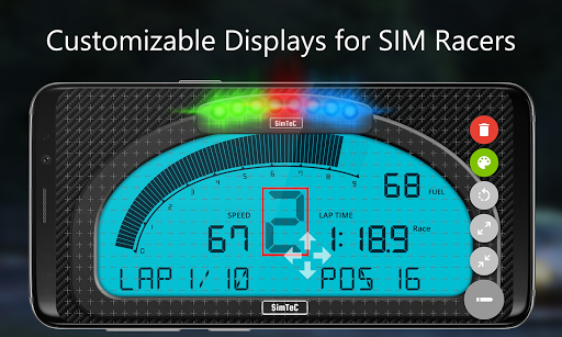 SIM Dashboard screenshot 1
