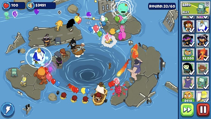 Bloons Adventure Time TDScreenshot Image
