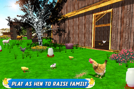 New Hen Family Simulator: Chicken Farming Games apkpoly screenshots 15