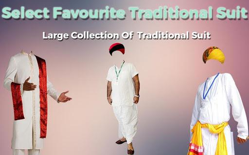 Man Traditional Photo Suit 1.0 screenshots 4