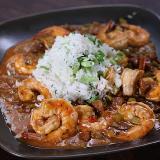 Slow Cooker Shrimp Louisiana-Style.
