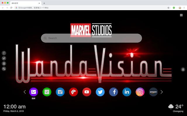 Wanda Vision New Tab Wallpaper Collection